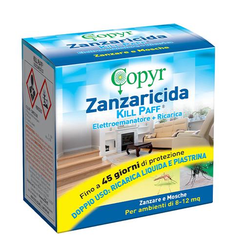 ZANZARICIDA KILL PAFF COPYR – ELETTROEMANATORE + RICARICA 33 ML.