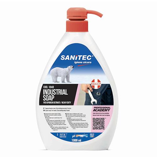 INDUSTRIAL SOAP – SAPONE LIQUIDO LAVAMANI SPECIFICO PER SPORCHI OSTINATI – FLACONE 1 LT. CON EROGATORE