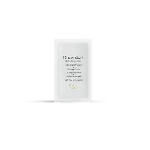 DERMOMED HAIR & BODY WASH – SHAMPOO DOCCIA FLOW PACK 10 ML. – CONFEZIONE 600 PEZZI