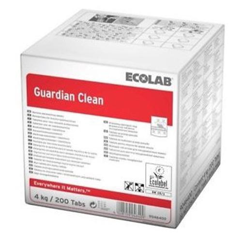 GUARDIAN CLEAN ECOLAB – DETERGENTE IN TAVOLETTE ECO-LABEL PER LAVASTOVIGLIE – SCATOLA 200 TAVOLETTE