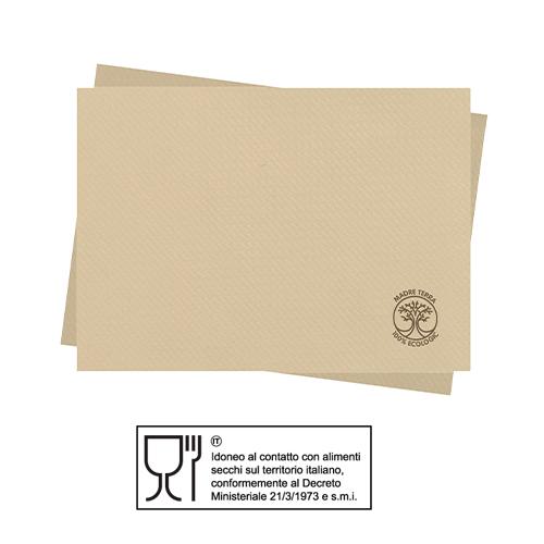 TOVAGLIETTA CM.30X40 MADRE TERRA IN MATERIALE  100% RICICLATO ECOLOGICO – CONFEZIONE 2000 PEZZI (200PZ X 10)