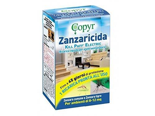 ZANZARICIDA KILL PAFF COPYR – RICARICA LIQUIDA 33 ML.
