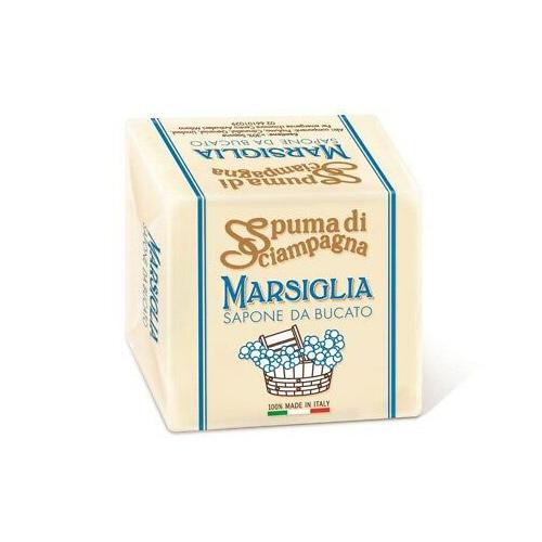 SAPONE DA BUCATO MARSIGLIA SPUMA DI SCIAMPAGNA - 250 GR.