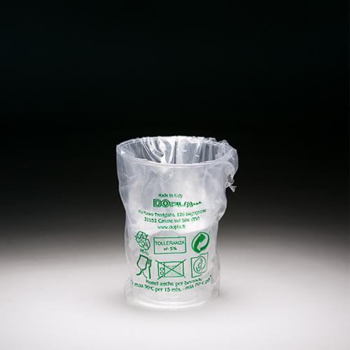 BICCHIERE PLASTICA DIAMANT 250 CC IMBUSTATO SINGOLARMENTE - CONFEZIONE 400 PEZZI