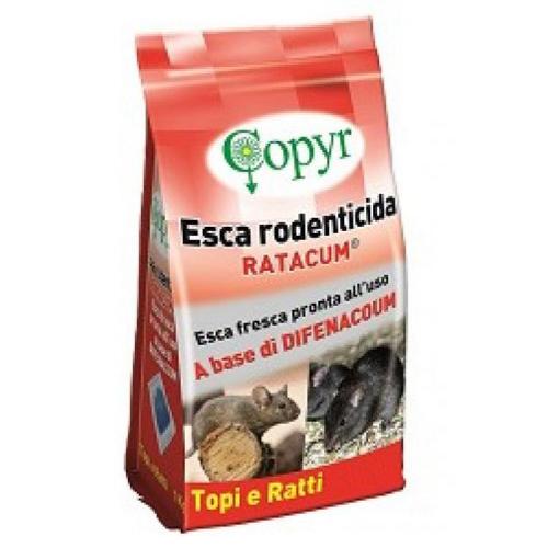 RACTUM ESCA RODENTICIDA COPYR - BUSTA 1,5 KG